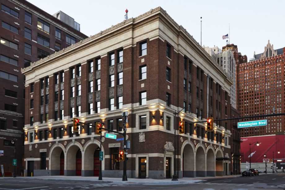 Fire Station Transforms into Detroit Foundation Hotel